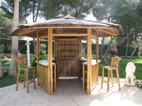 pavillon mit faltbarem sonnendach bambus pavillon bambusbar f 252 r garten terrasse tahas 174