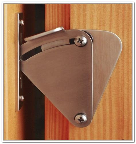 sliding barn door latch 301 moved permanently