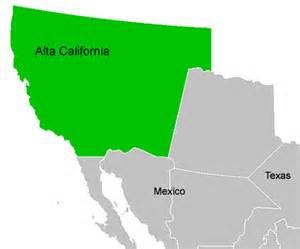 alta california map