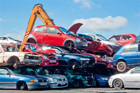 Car Dump Yards by Automobiles Filling Up Junk Yards And Landfills