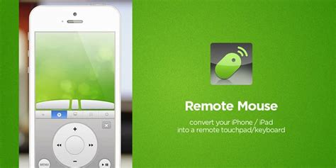 remote mouse turn iphoneipad and android into wireless turn your smartphone into mouse to control your pc