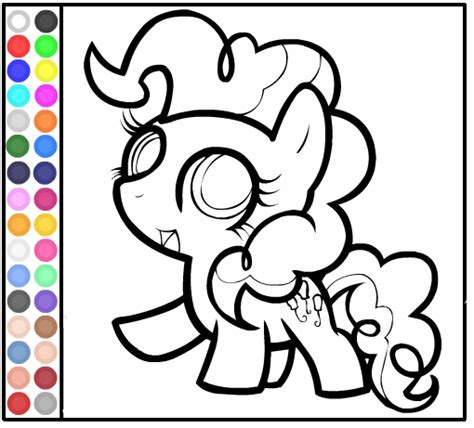 coloring pages my little pony babies coloring book of my little pony baby pinkie pie coloring