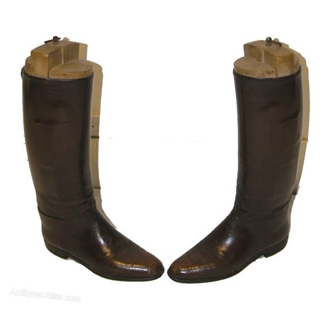 mens leather riding boots for sale antiques atlas good pair of mens leather riding boots