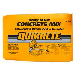 Plastic Bathtub Price Quikrete 174 Concrete Mix 25 Kg Rona