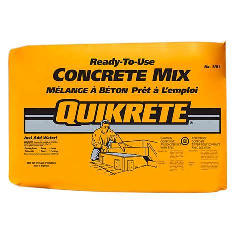 concrete mix rona