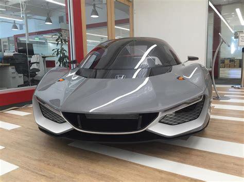 mobil honda sport sosok mobil sport baru honda bocor di internet inikah