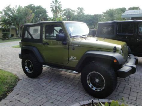 Jeep 2 Inch Lift Kit Sell Used 2008 Jeep Wrangler X Sport Utility 2 Door 3 8l