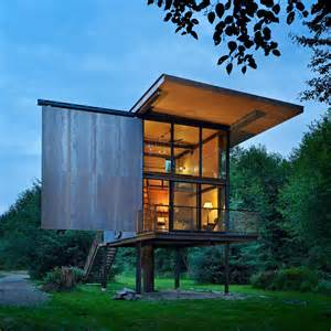 small house on stilts 7 clever ideas for a secure remote cabin