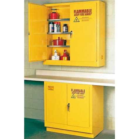 flammable liquid storage cabinet eagle manufacturing 174 flammable liquid safety storage cabinet