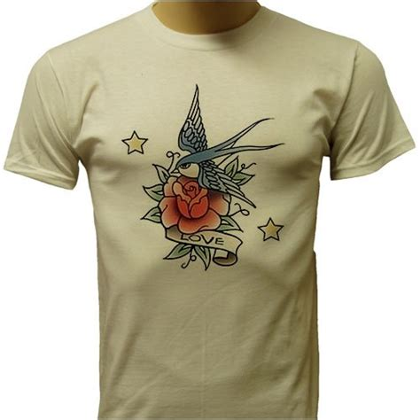 tattoo design t shirts t shirt classic bird and design t