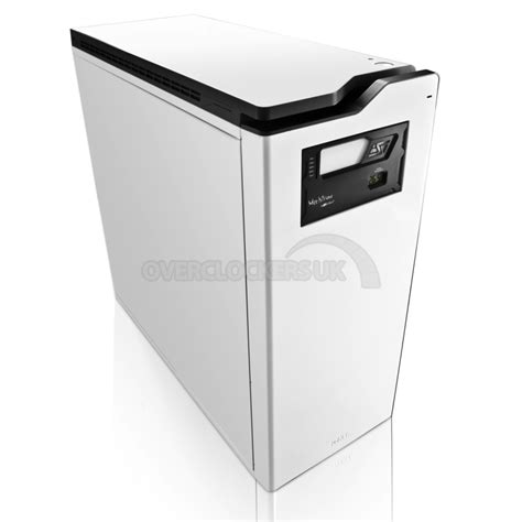 Casing Nzxt H630 Black White nzxt h630 silent ultra enthusiast tower ocuk