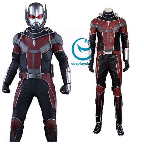 Masker Antman Set 3 marvel ant costume no mask cosplayclass
