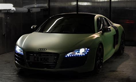 audi r8 wallpaper matte audi r8 gets matte green wrap