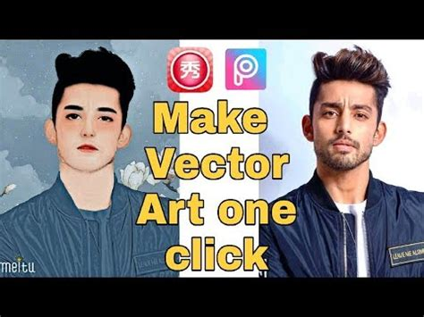 vector art   click picsart vector editing