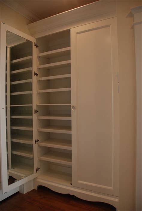 Built Out Closets by Built In Shoe Closet Traditional Closet Vancouver