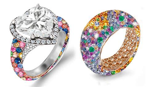 Modern 1.50CTW Solitaire Ruby, Emerald, Sapphire & Diamond