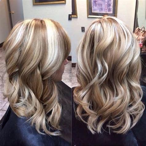What It Looks Like Going Highlights And Low Lights To Go Salt Pepper | highlighting blonde hair for summer definitely go lighter