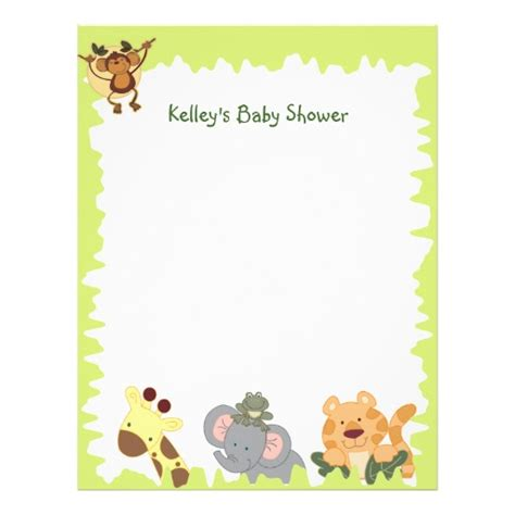jungle animal templates baby jungle animals borders pictures to pin on