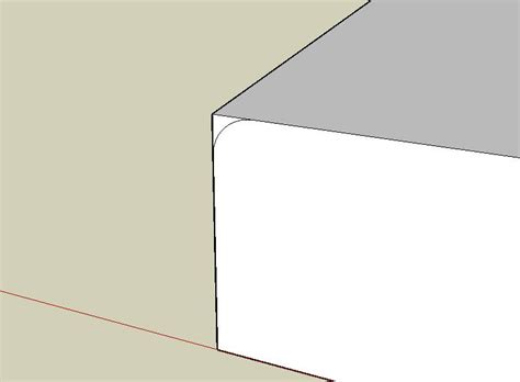 sketchup layout rounded rectangle creating round corners with sketchup technology