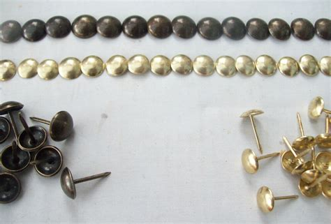 Antique Brass Upholstery Tacks by 1000 X Antique Bronze Or Brass Steel Upholstery Nails