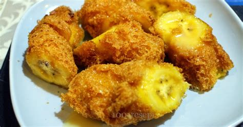 tips membuat pisang goreng nugget cara membuat pisang goreng gurih dan nikmat