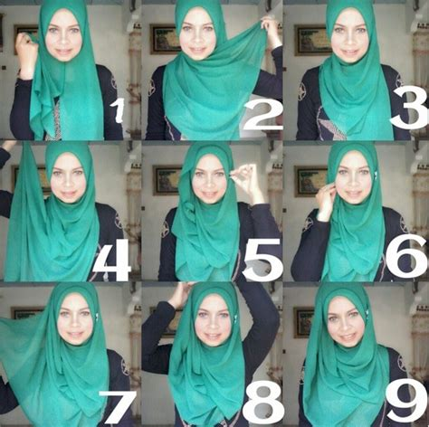 Simple Hijab Tutorial Style For Beginners