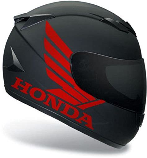Motorradhelm Aufkleber Set by 2 X Honda Sticker For Helmet Decal Motorcycle Decal