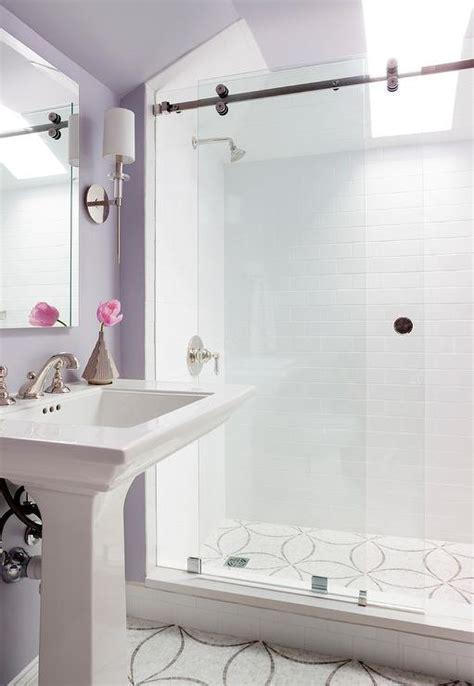 Gray Subway Tile Bathroom   Contemporary   bathroom