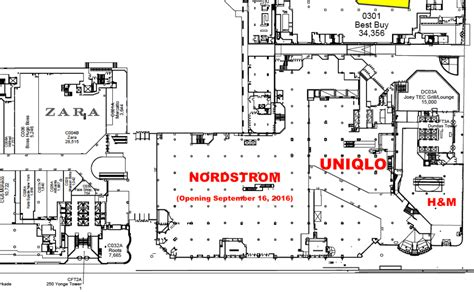 eaton center floor plan uniqlo on track for canadian debut