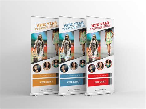banner design on behance fashion show roll up banner design on behance