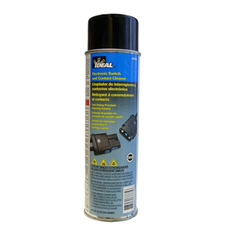 electrical cleaner shop ideal cleaning electrical switch and contact cleaner