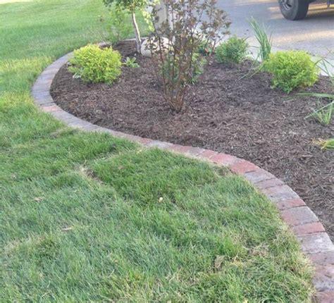 rock garden edging the value of garden edging ortega lawn care