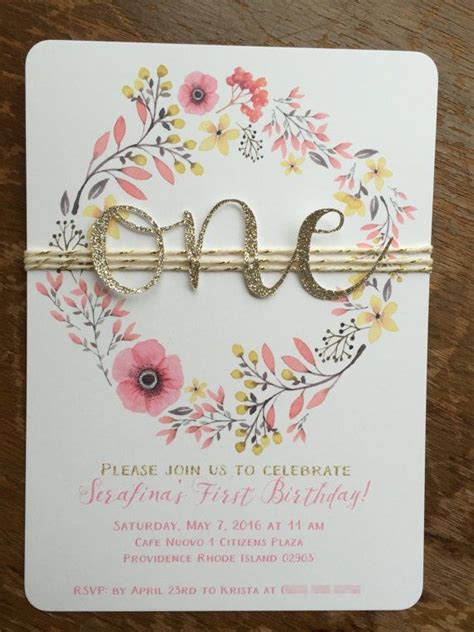 Invitation Letter For 1st Birthday 25 Best Ideas About Birthday On Baby 1st Birthday Baby 1st