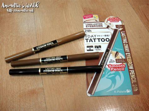 Lasting 2 Way Eyebrow Pencil Powder Brows Secret 57147 k palette lasting 2 way eyebrow pencil review animetric