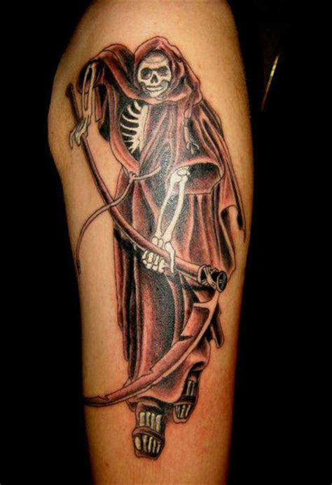 grim reaper tattoo designs for men grim reaper tattoos page 3
