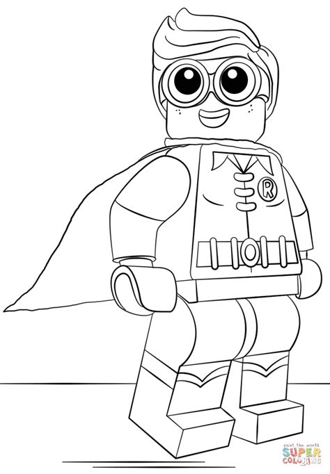 printable coloring pages robin lego robin coloring page free printable coloring pages