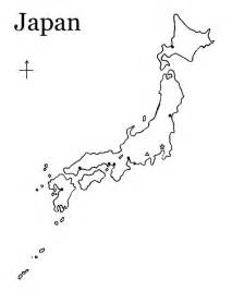 Japan Map Cities Outline by Japan Outline Map Nail