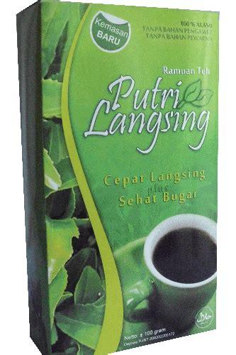 Pelangsing Putri Langsing by Toko Serba Herbal Putri Langsing Teh Herbal