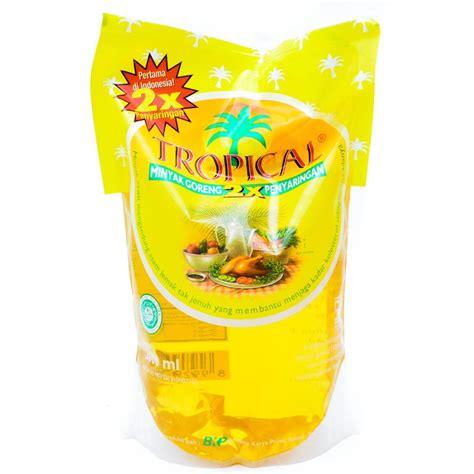 Minyak Goreng Refill 1 Liter jual minyak goreng tropical 1 liter elkaka