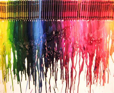 diy crafts with crayons diy crayon wall make something mondays