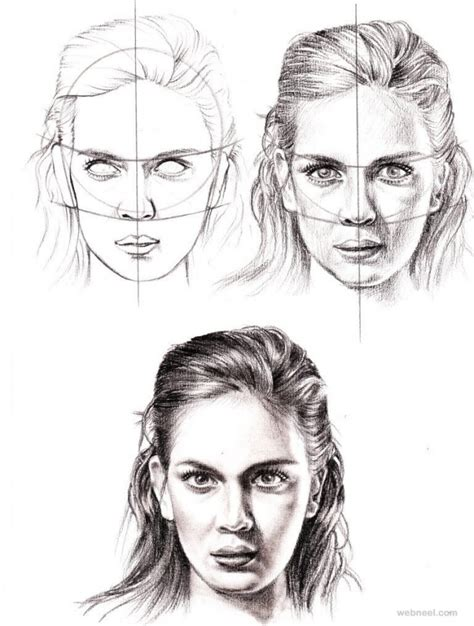 how to draw doodle faces how to draw a 25 step by step drawings and