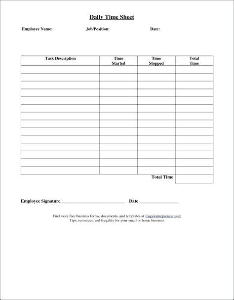 Simple Weekly Timesheet Template by Simple Time Sheets To Print Weekly Timesheet Template