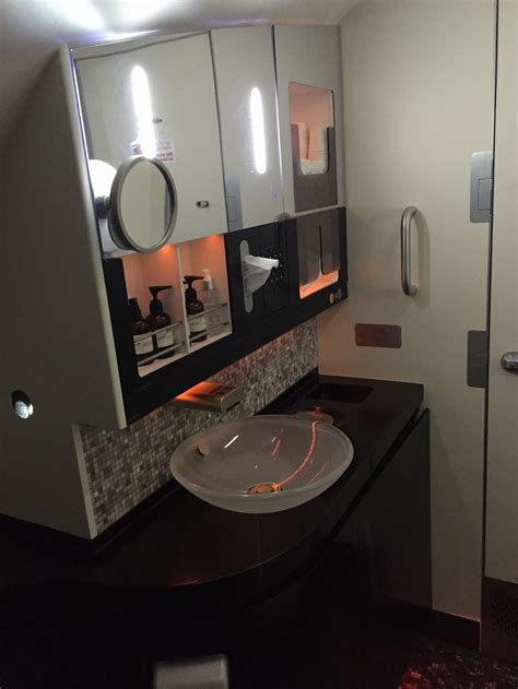 etihad first class bathroom review etihad first class apartment a380 abu dhabi to
