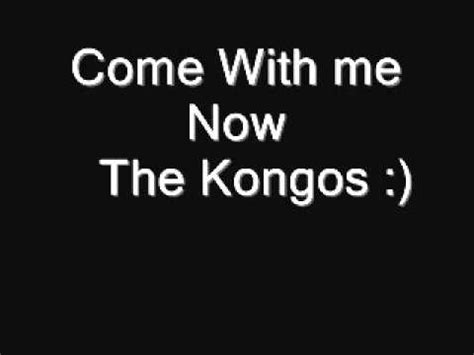 Come With Me Cocktail Ae The Look by Kongos Come With Me Now