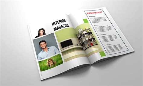 free indesign magazine templates projects 50 pages a4 indesign magazine template on behance