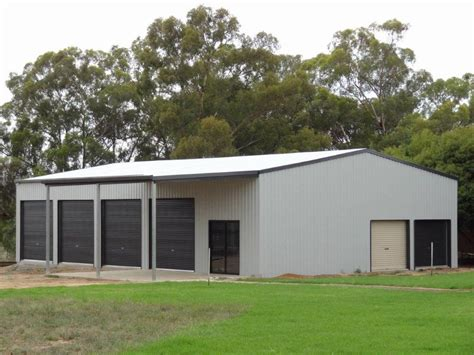 choosing a zincalume or colorbond shed wholesale homes