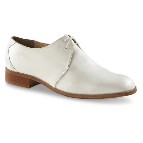 german shoes german surplus white leather dress shoes new