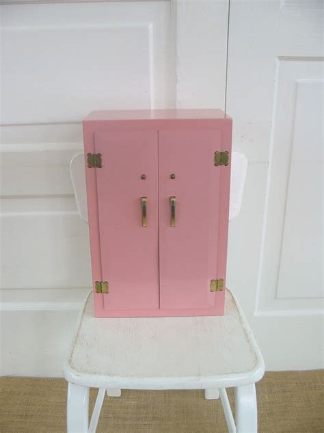 doll armoire vintage metal doll armoire dresser closet toy furniture