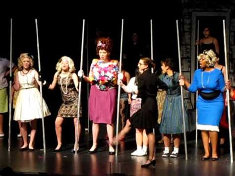 big doll house hairspray hair spray big doll house ypsilanti high school march 2011 youtube