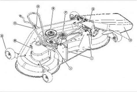 deere l130 mower belt diagram deere lt133 parts diagram wedocable